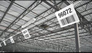 Durable Manufacturing Barcode Signage